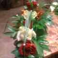 Hochzeitfloristik, Tischdekoration, Kirchendekoration