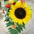 Festliche Floristik, Blumensträuße, Gebinde, Blumenbiene